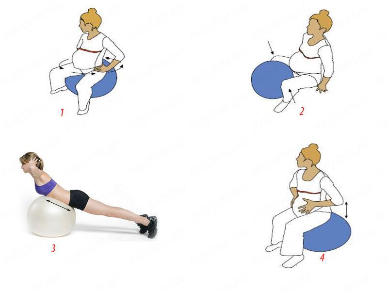 Упражнения для беременных 2 семестр 100