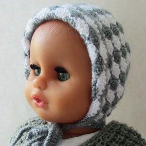 Як в язати чепчики для новонароджених гачком — МамаТато.com 7e30618228694