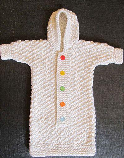 Спальники для новорожденных связать спицами